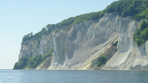 Visite Møns Klint frm your holiday home on Møn